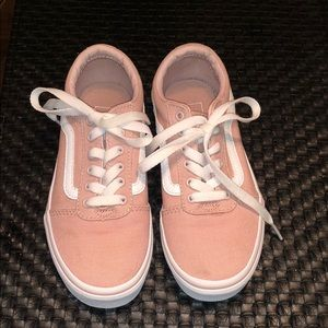 Girls pink Vans size 1